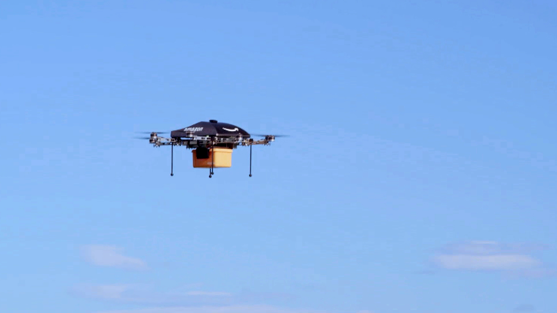 Amazon Drones: Amazon Unveils Futuristic Delivery Plan ...