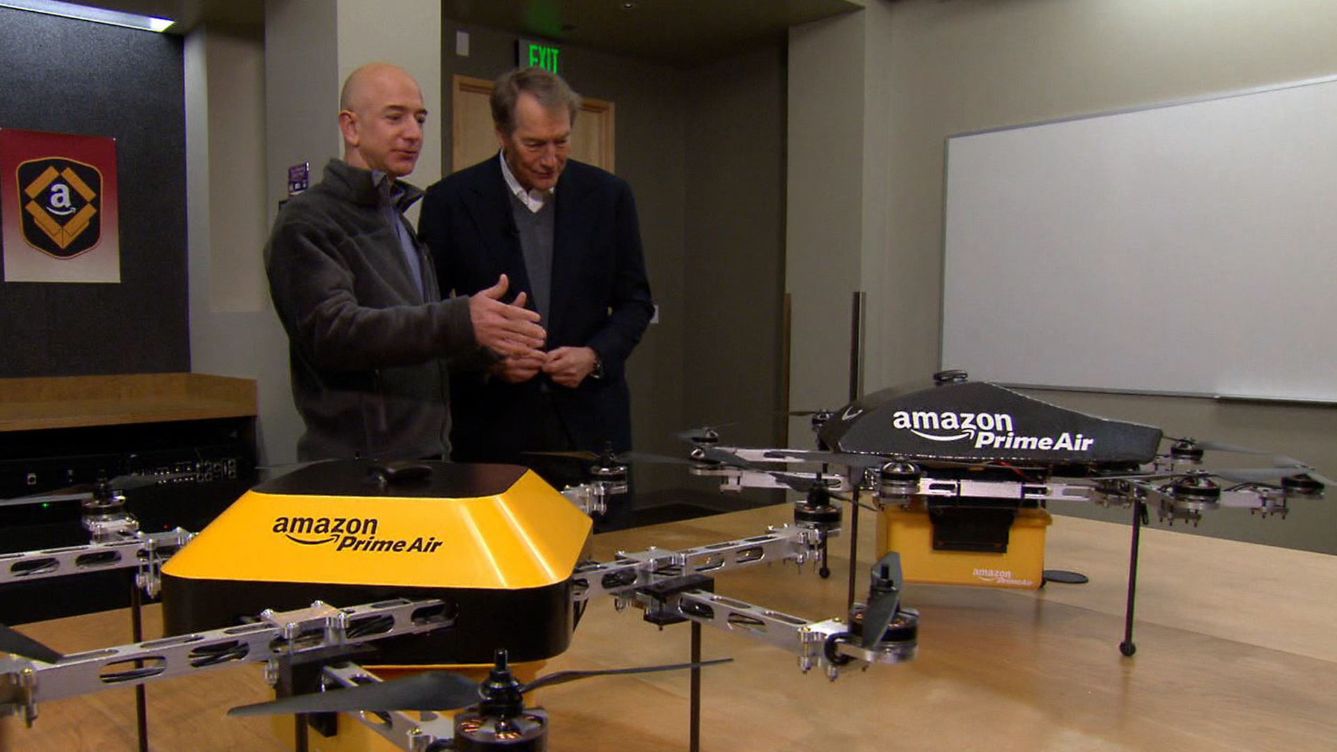 Amazon S Jeff Bezos Looks To The Future Cbs News
