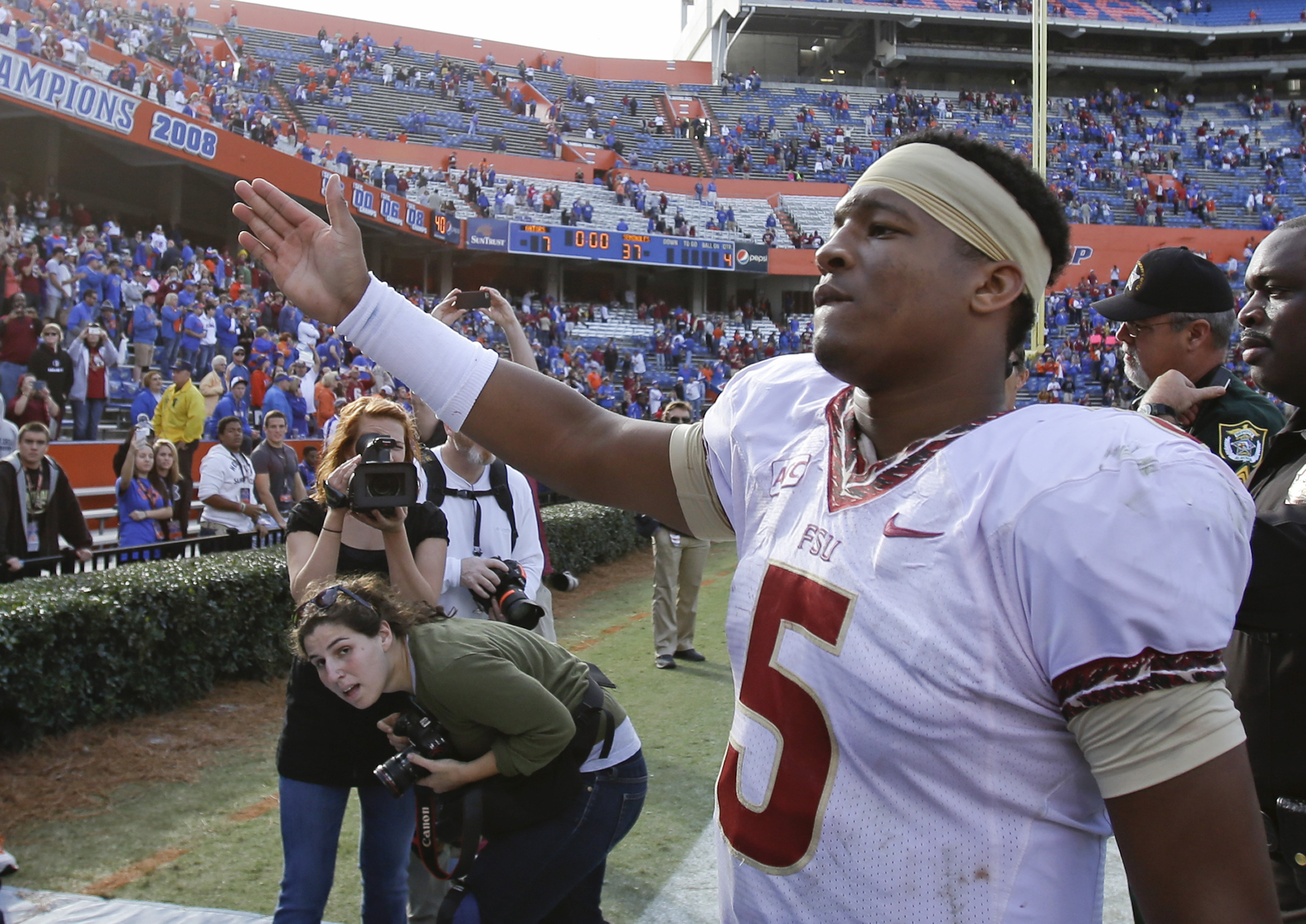 accused  woman Jameis Winston for Atty Update: who