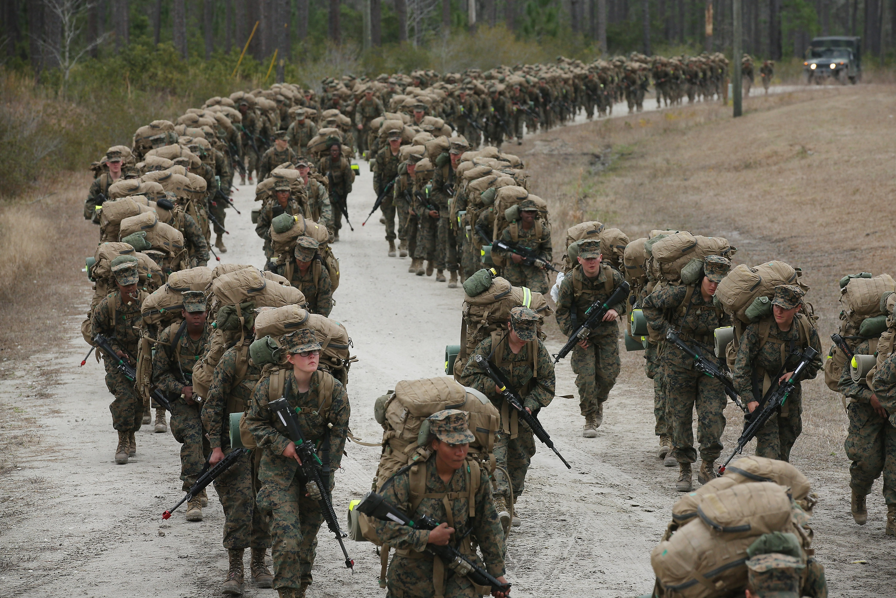 What Are The Crucible Requirements In Parris Island In