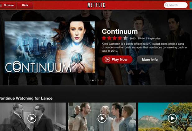 Netflix app to stream