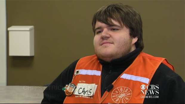 561ac768e36dd Quick-thinking Home Depot employee saves falling baby - CBS News