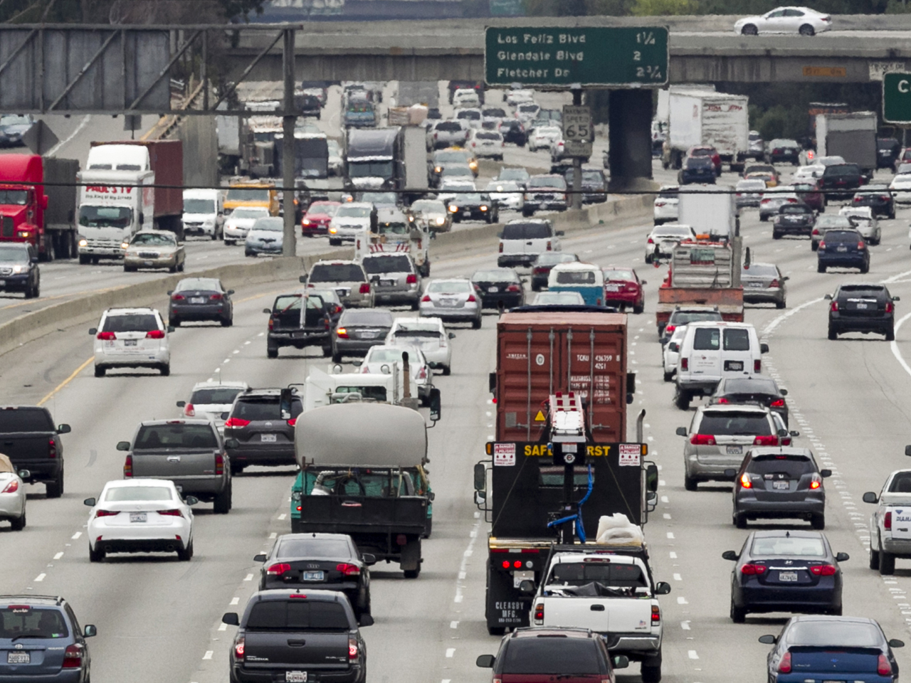 What California Freeway Has The Most Gridlock