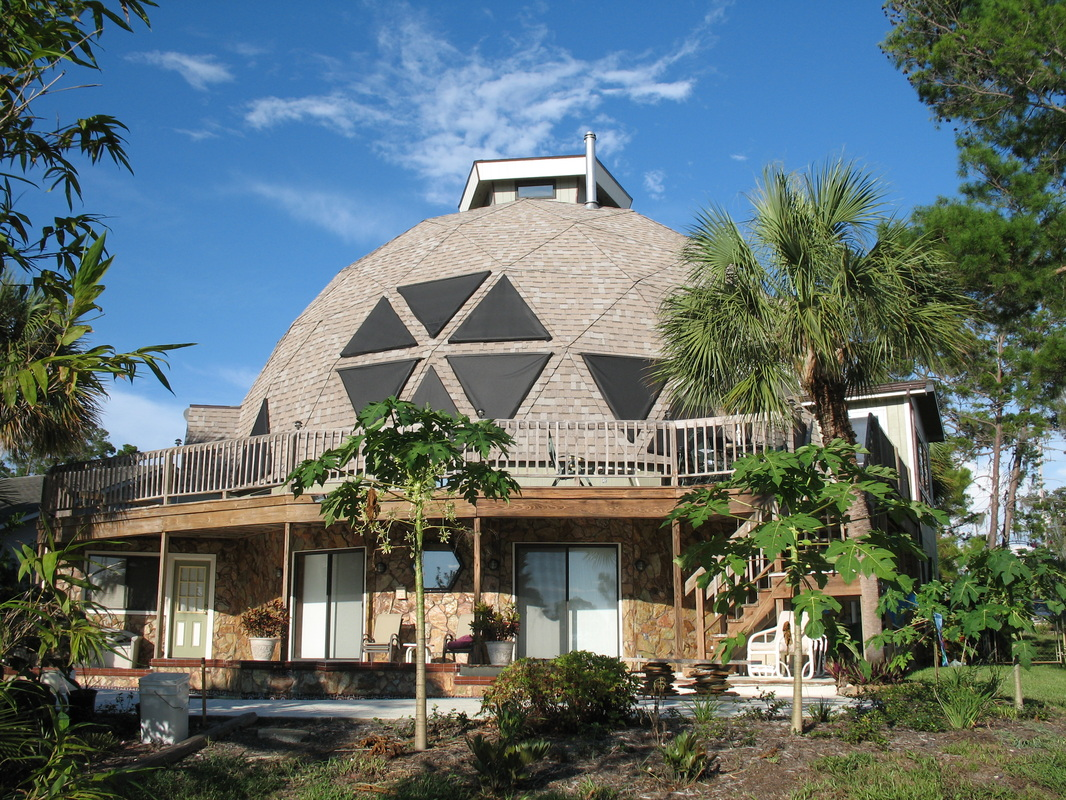 A geodesic dome in florida are dome homes the next big for Massive homes for sale