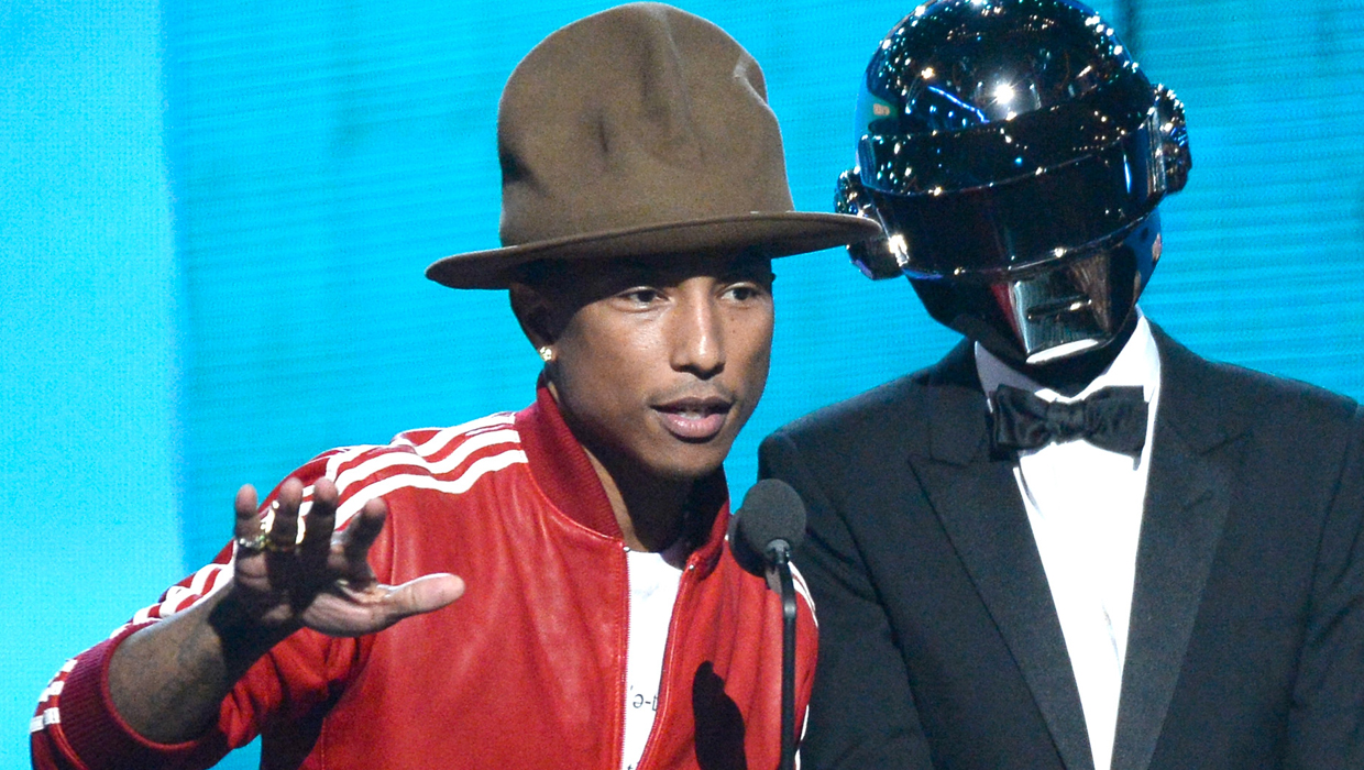 Pharrell Williams' Grammys hat bought by Arby's for $40,100
