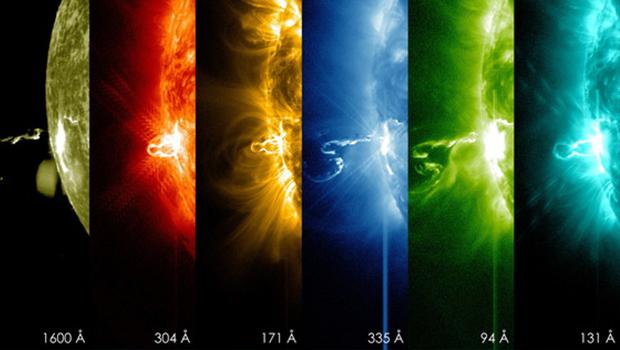 Sun unleashes monster solar flare, biggest of 2014 - CBS News
