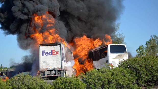 California bus crash eyewitness account provides new details on
