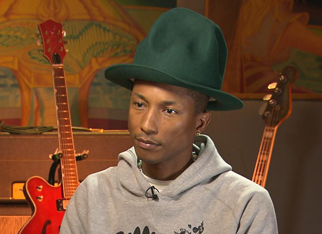 "Lucky 8 Auto >> Pharrell Williams: ""Happy"" and grateful - CBS News"