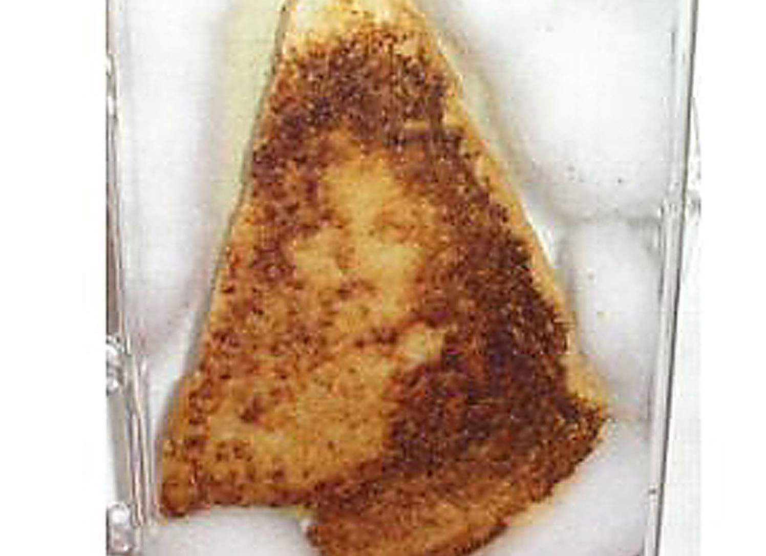 Curious topic the virgin mary appearing in food join