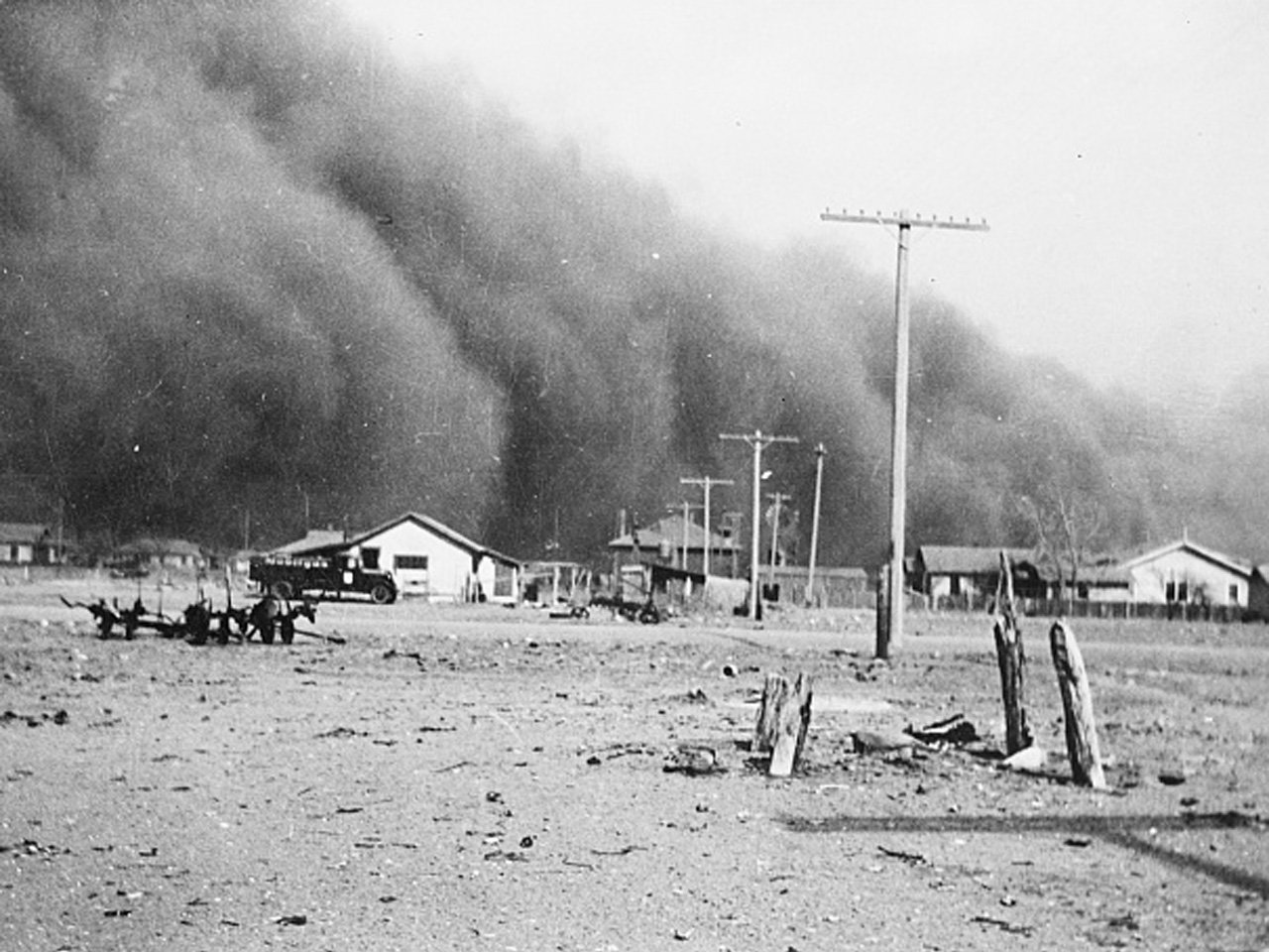 the problem of soil erosion during the dust bowl of 1930s De-naturalizing ecological disaster: colonialism, racism and dust bowl of the 1930s during of the dust bowl and how the problem of soil erosion.