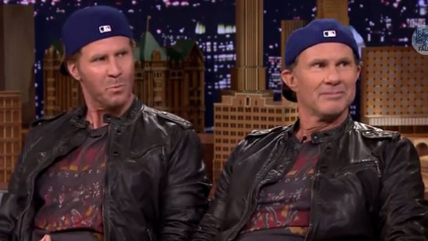 Will ferrell and chad smith have a drum off cbs news - Will ferrell one man show ...