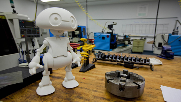 photo about 3d Printable Robot called Intel toward provide 3D released robotic kits toward marketplace this 12 months