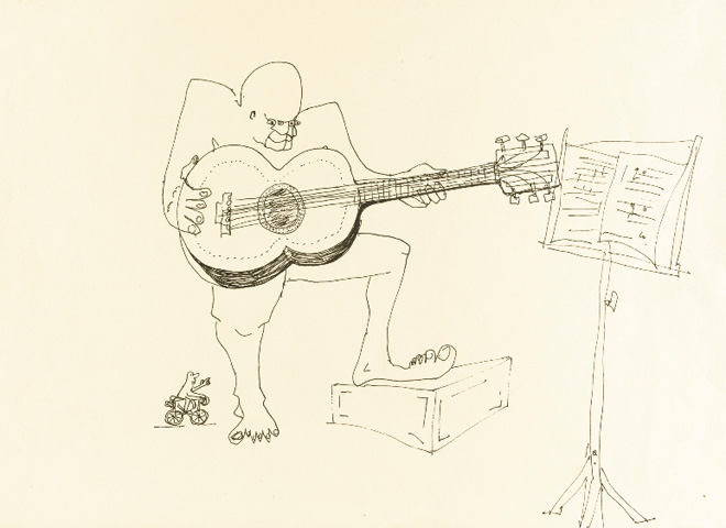 Four Eyes John Lennon Drawings Up For Auction Pictures