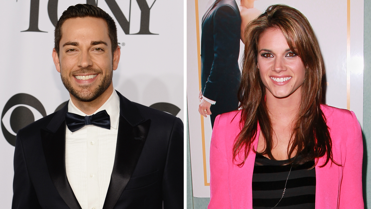 When did missy peregrym and zachary levi start dating not