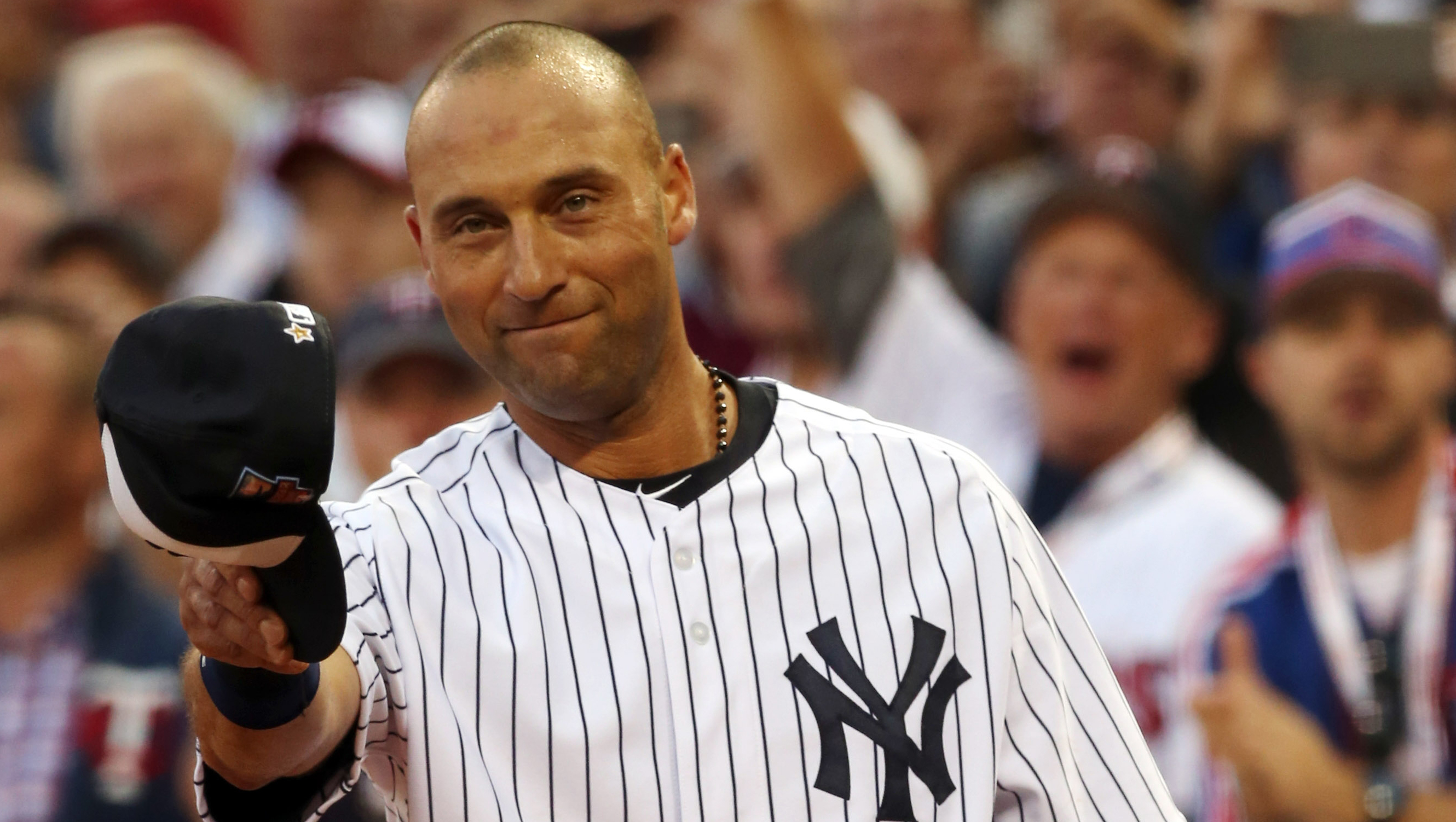 b163696c All-Star farewell: Jeter takes bow, hits double - CBS News