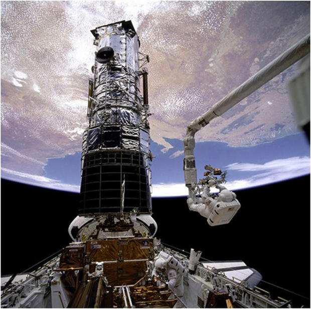 Hubble telescope marks another milestone in space - CBS News