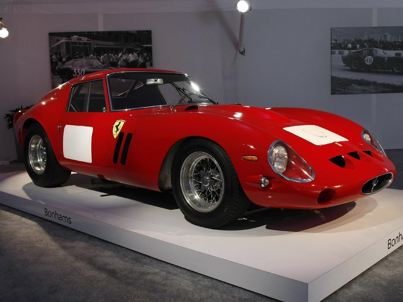 for $38 million, a 1962 ferrari hits an auction record - cbs news