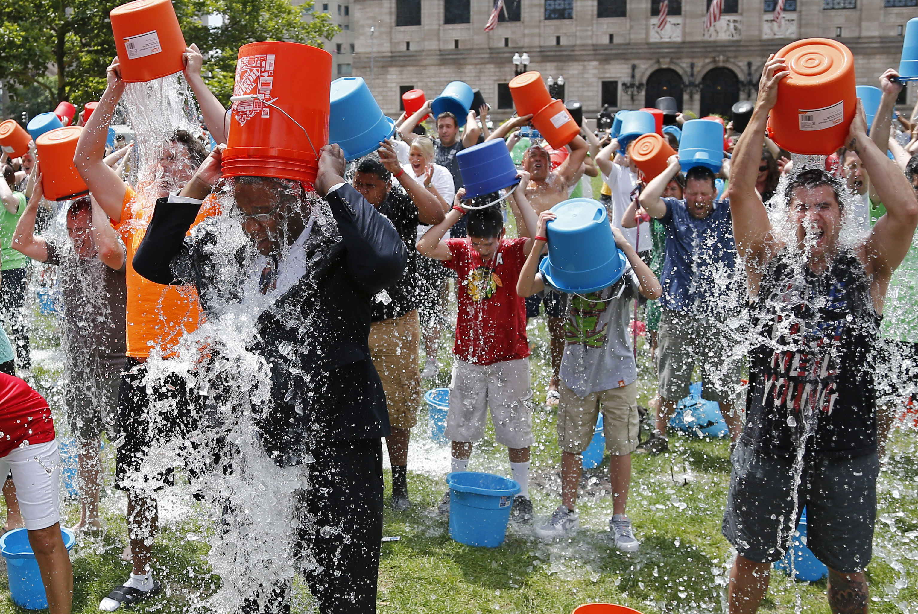 One year later, what the ice bucket challenge has done for