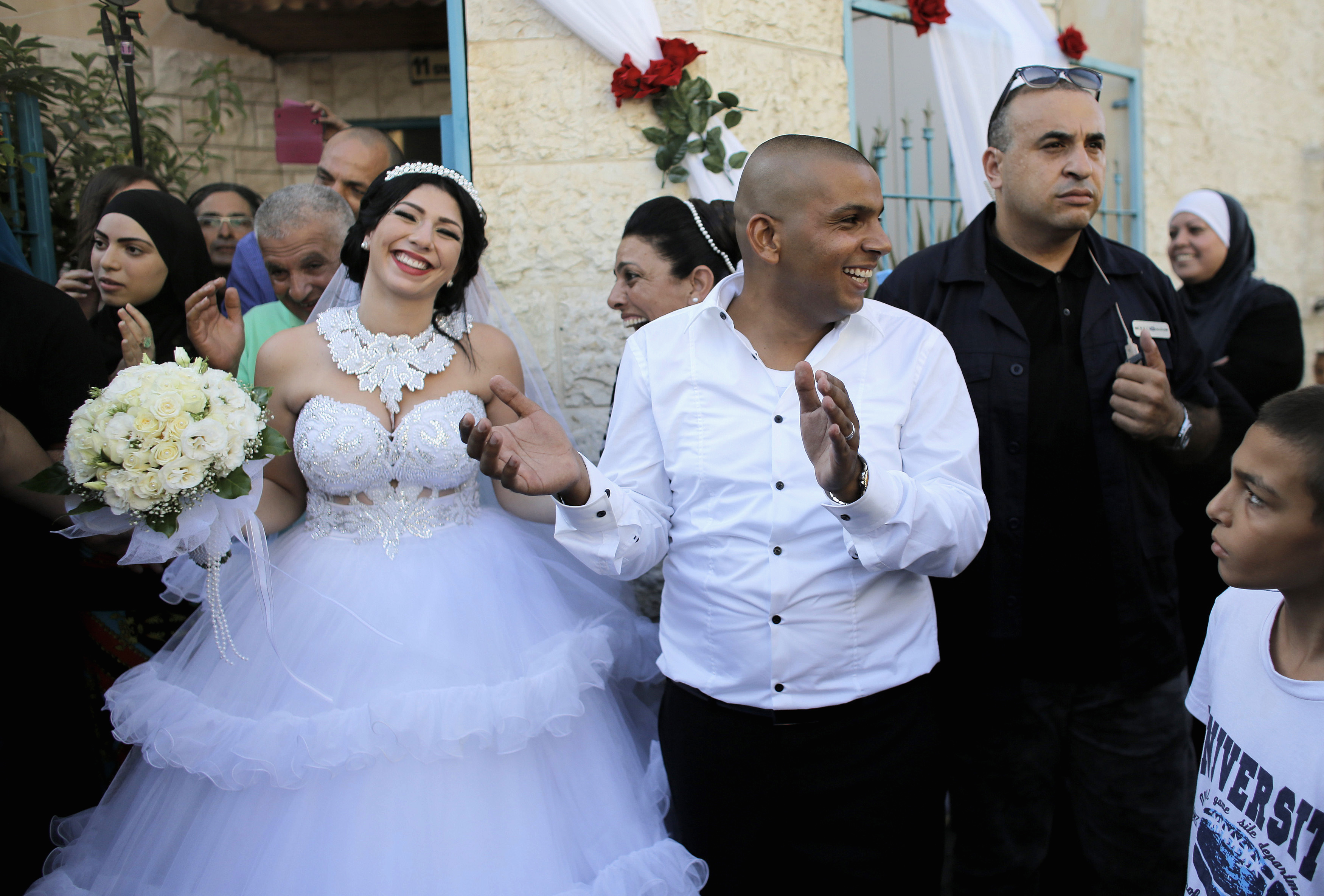 Israeli Palestinian Wedding Pictures Cbs News