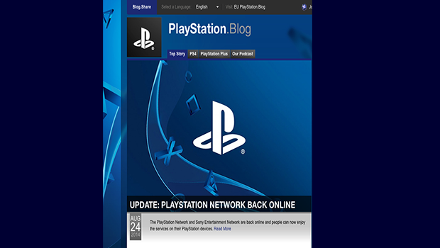 Sony PlayStation back online after hacking attack - CBS News
