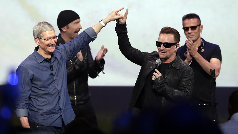 Apple's free U2