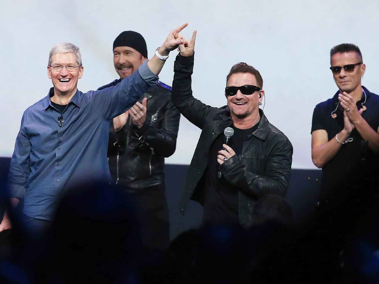 Apple's $100 million U2 debacle - CBS News