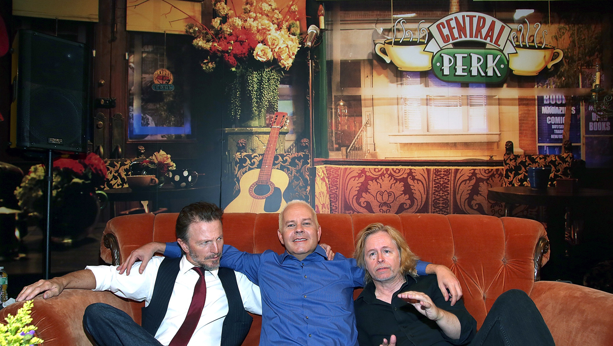 Friends 20th Anniversary Bash Held At Central Perk Cafe