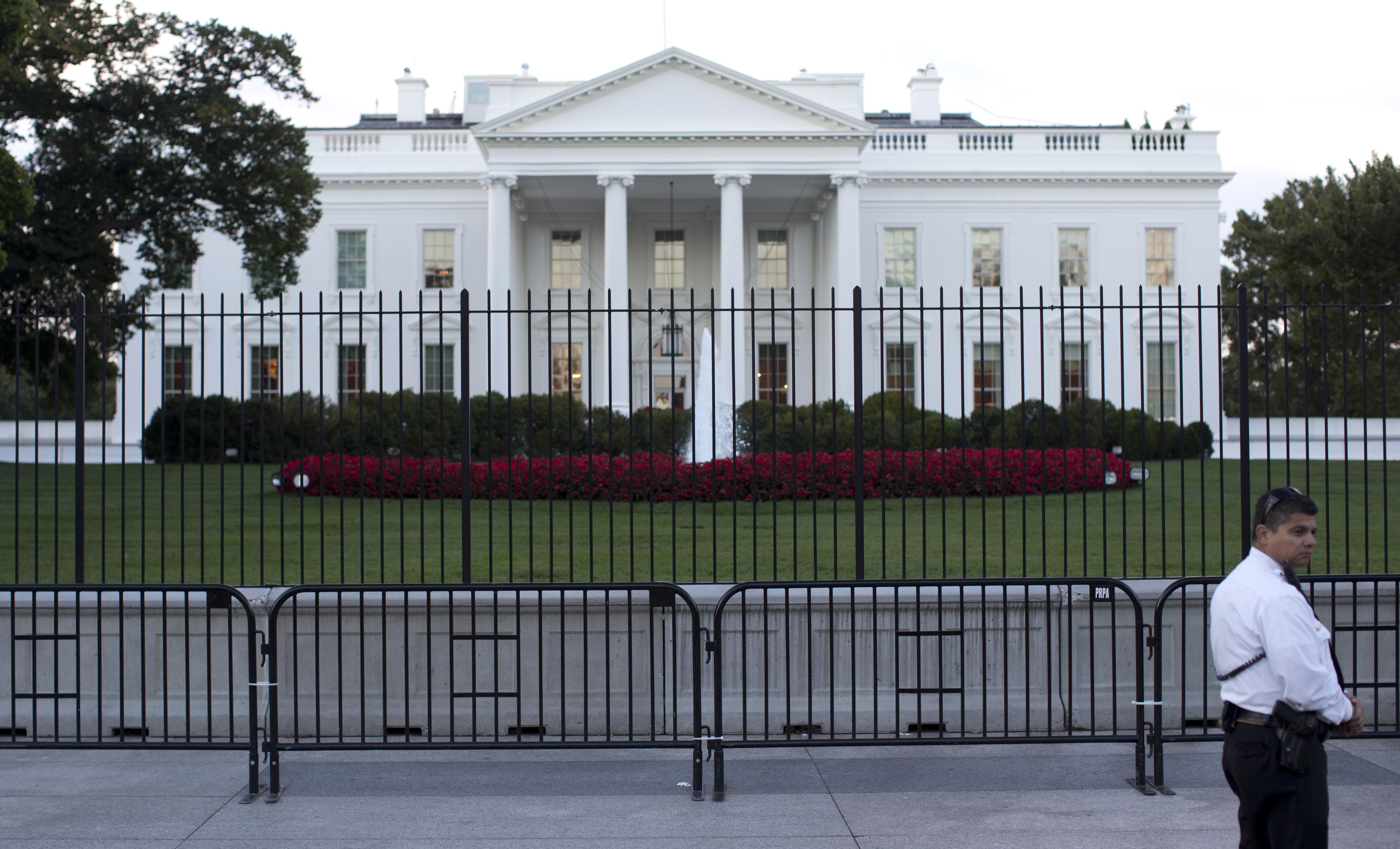 Secret Service Erects Second Barrier After White House Fence Jumper