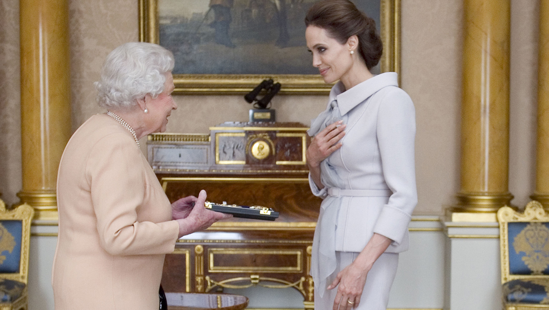 Angelina Jolie named honorary dame for U.N. work - UPI.com