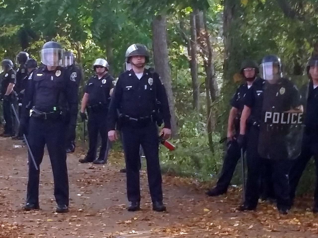 Keene, New Hampshire, pumpkin festival turns to mayhem - CBS