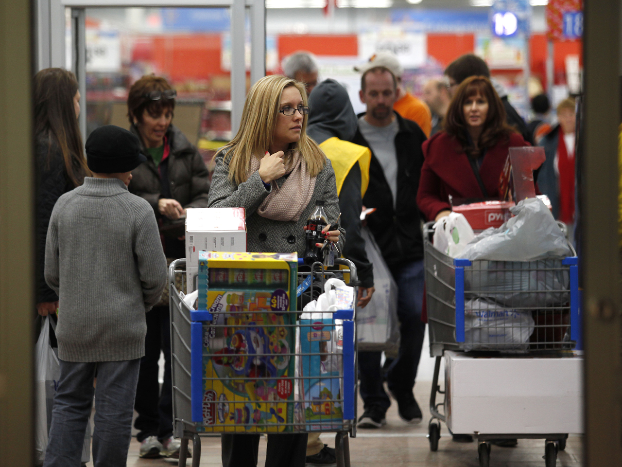 41a9cfff2 How Black Friday is eating into Thanksgiving - CBS News