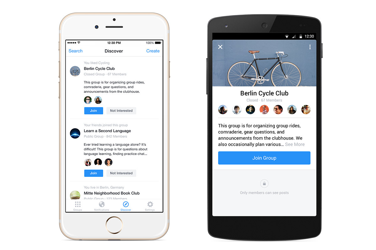 Preview of the new Facebook Groups app - CBS News