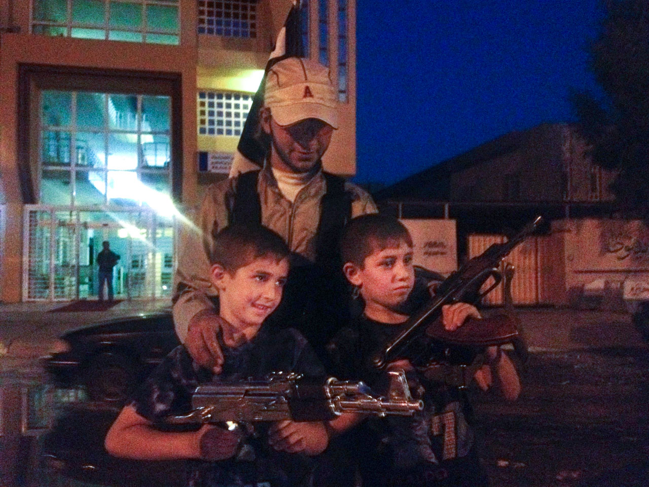 Child soldiers become integral part of ISIS' army