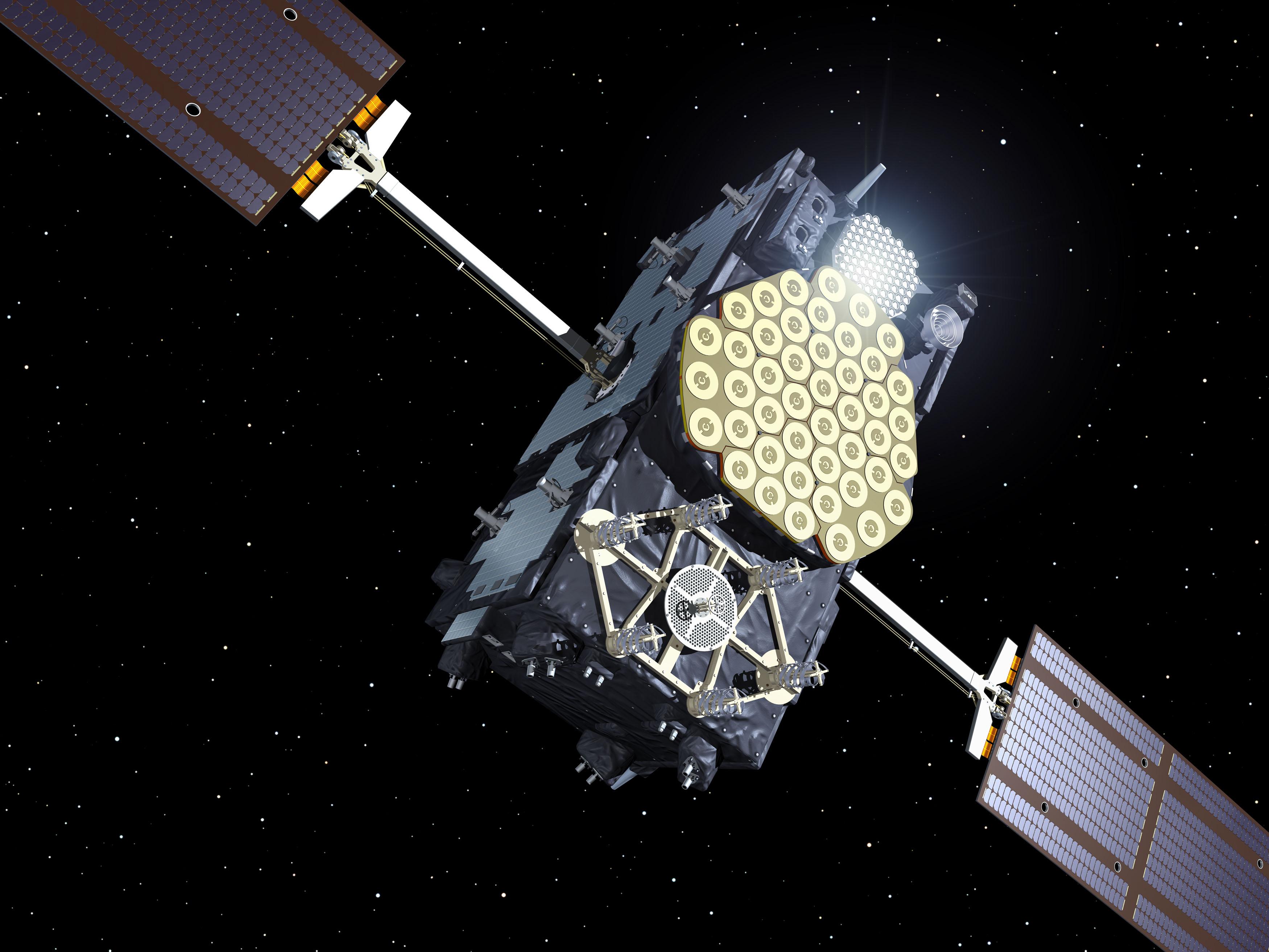 Wayward European satellite is back on track, transmits first