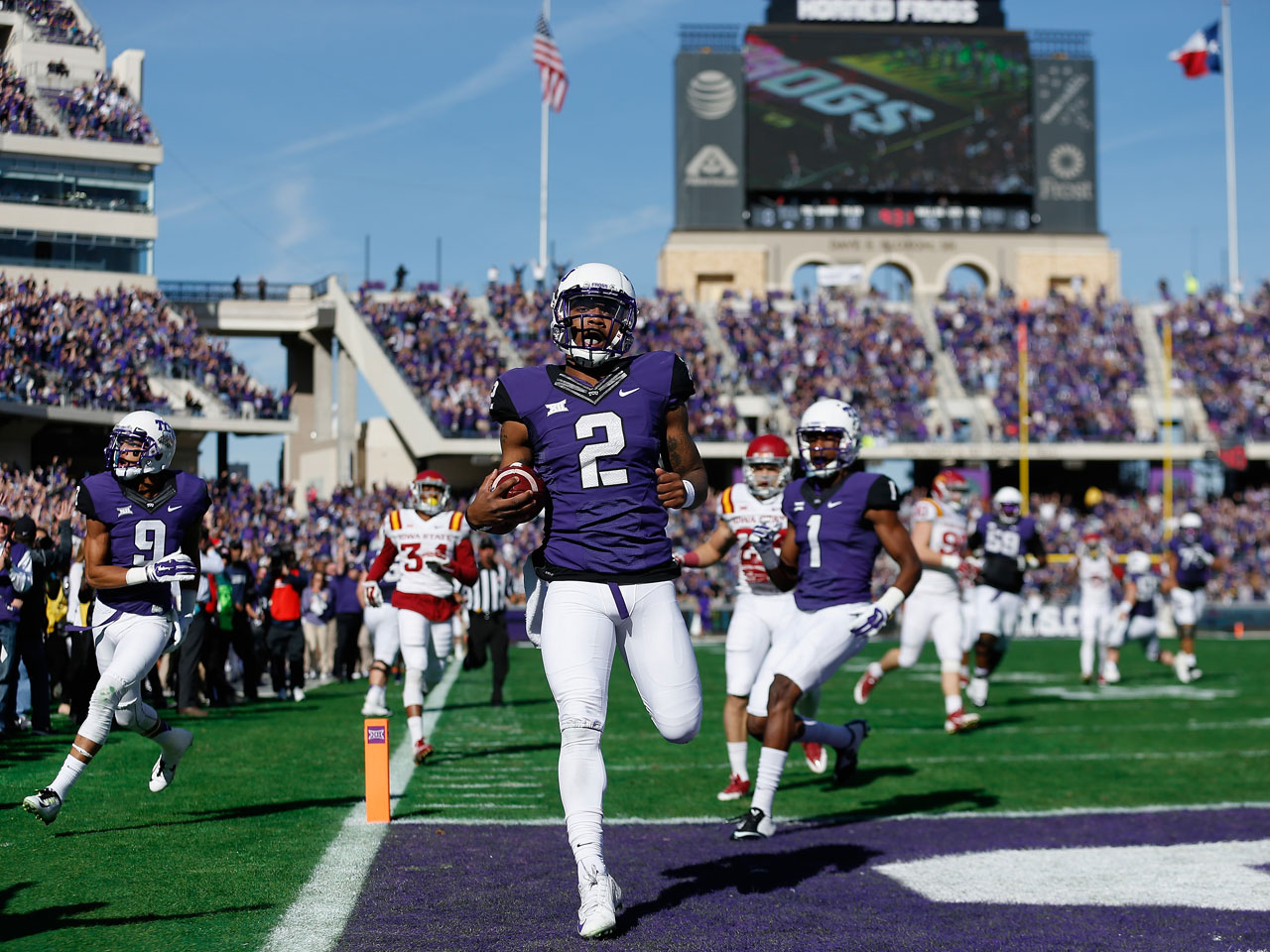 Tcu Baylor Muddle College Football Playoff Picture Cbs News