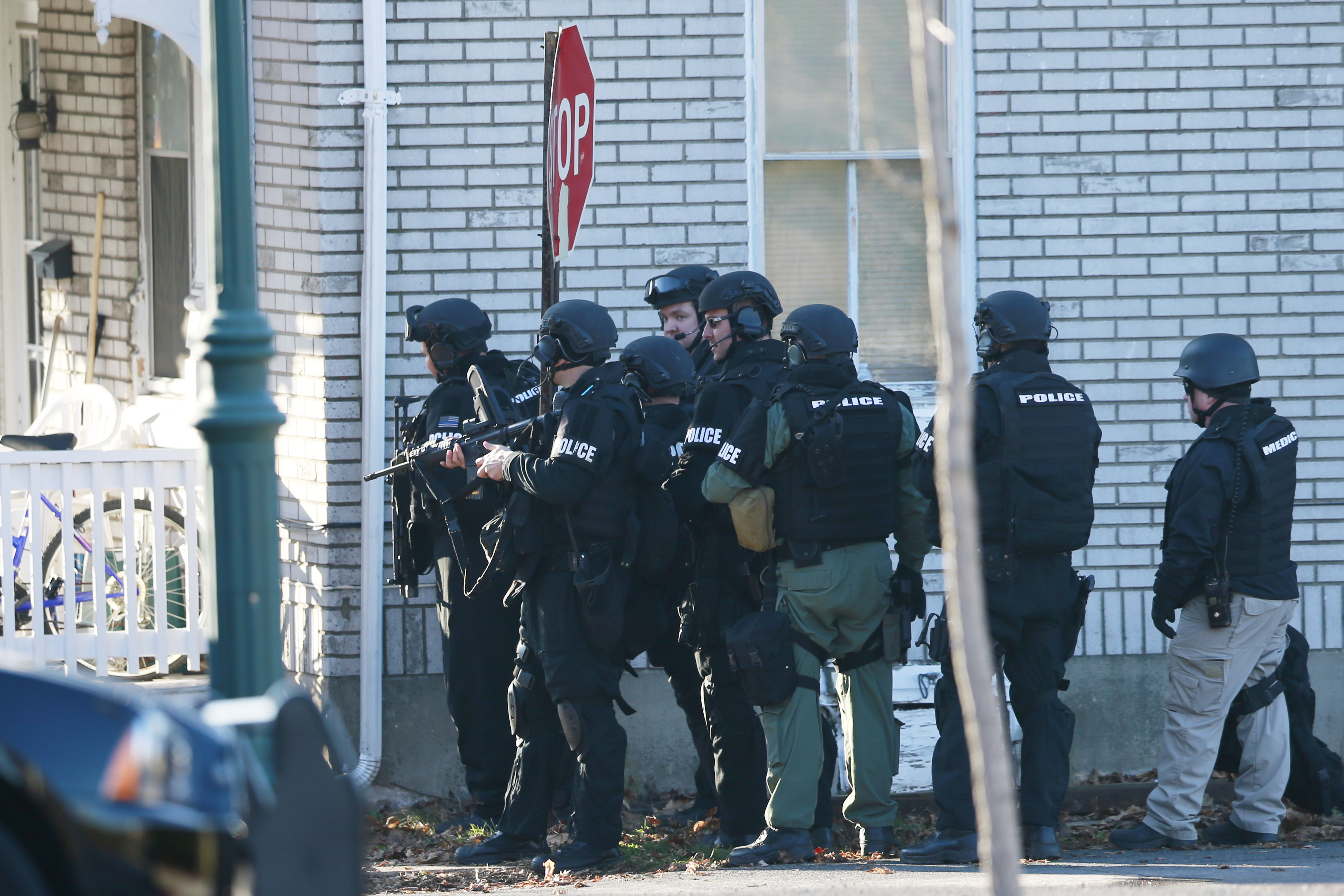 Suspect In Deadly Pennsylvania Killing Spree Remains At