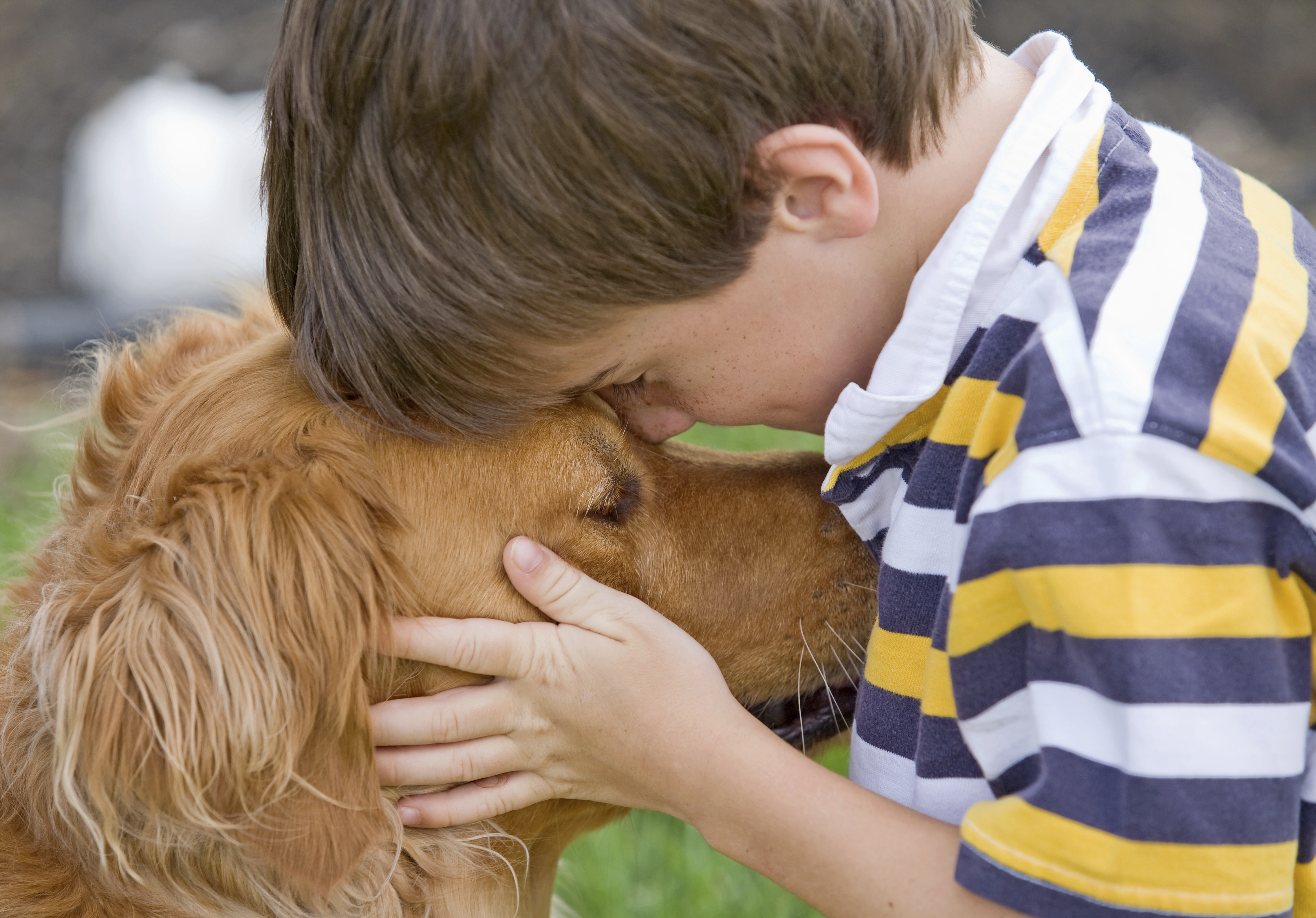 Pets Bring Kids With Autism Out Of >> Pets Help Autistic Kids Improve Social Skills Cbs News