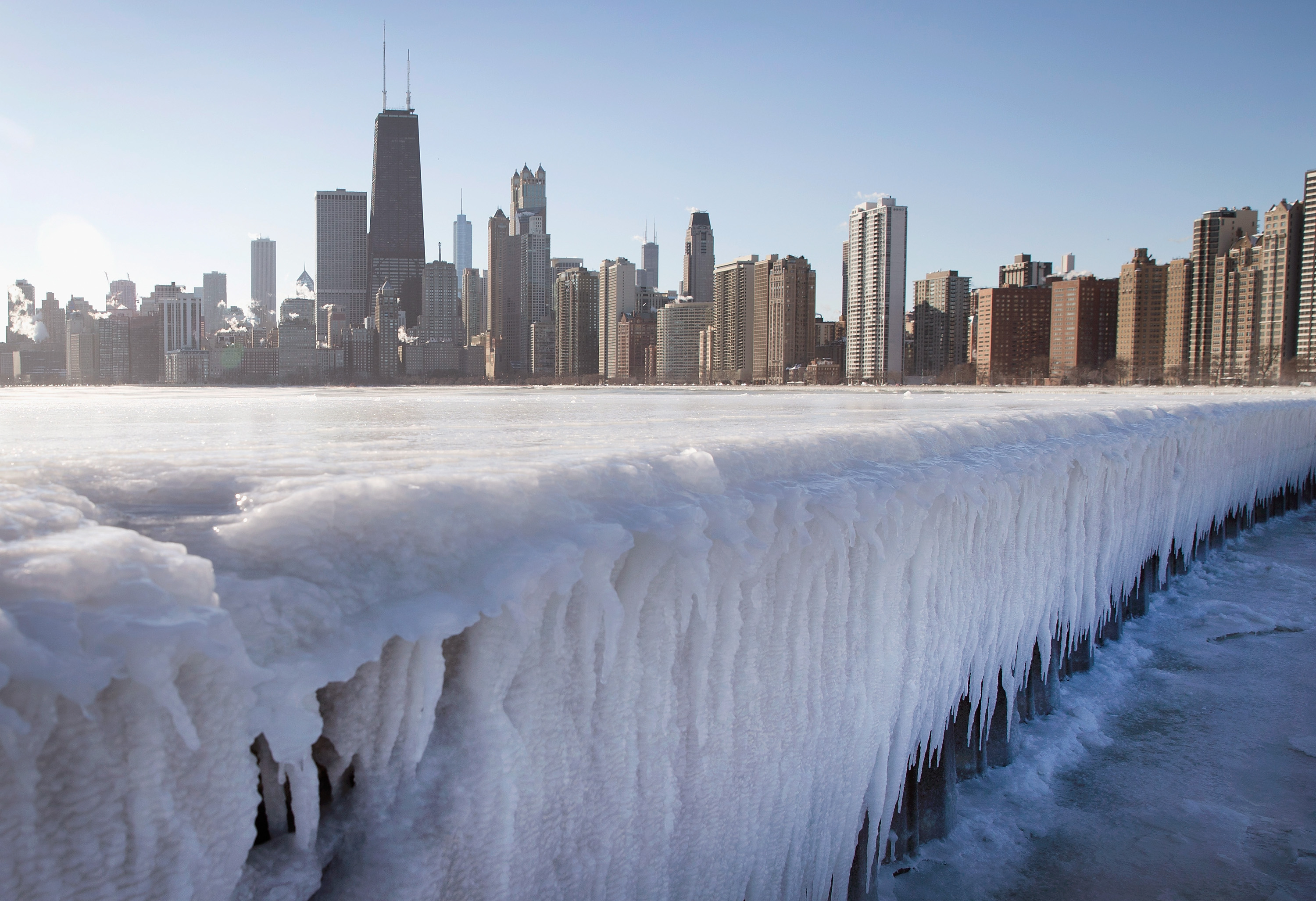 Chicago - Winter weather covers the U.S. - Pictures - CBS News