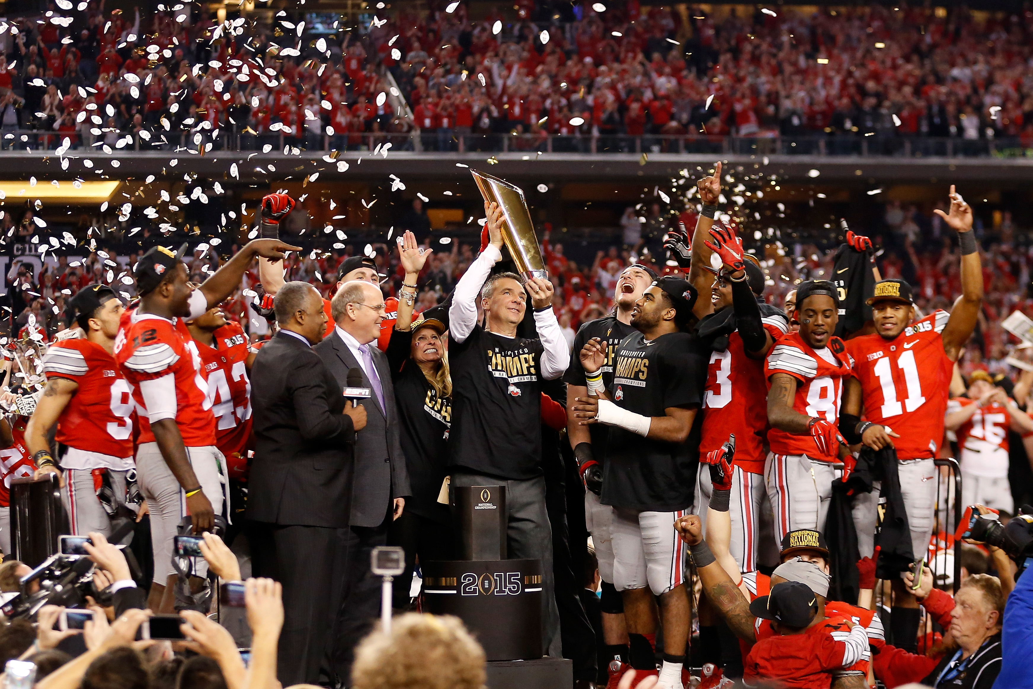 Ohio State wins college football's national championship - CBS News