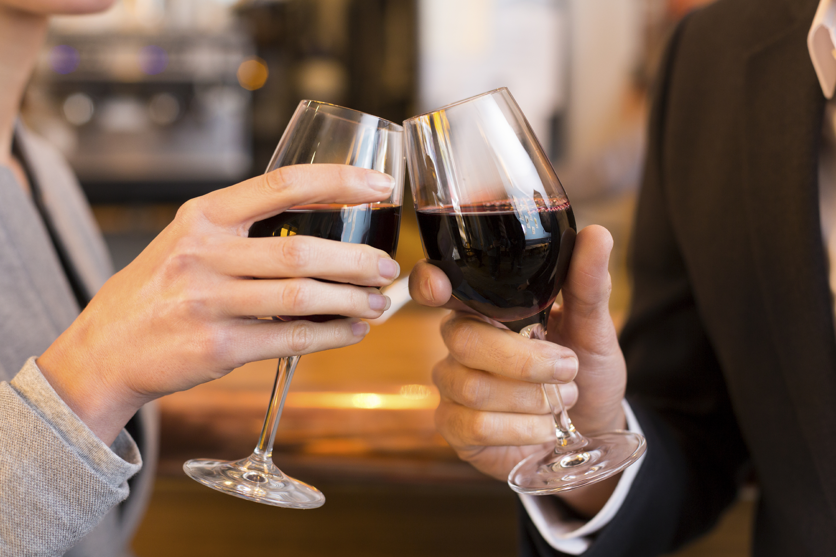 Alcohol every day can cut heart disease – but only for men