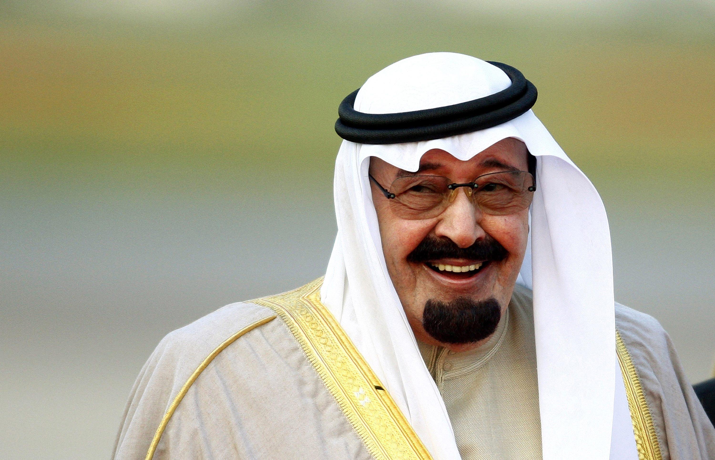 Saudi Arabian King Abdullah di...