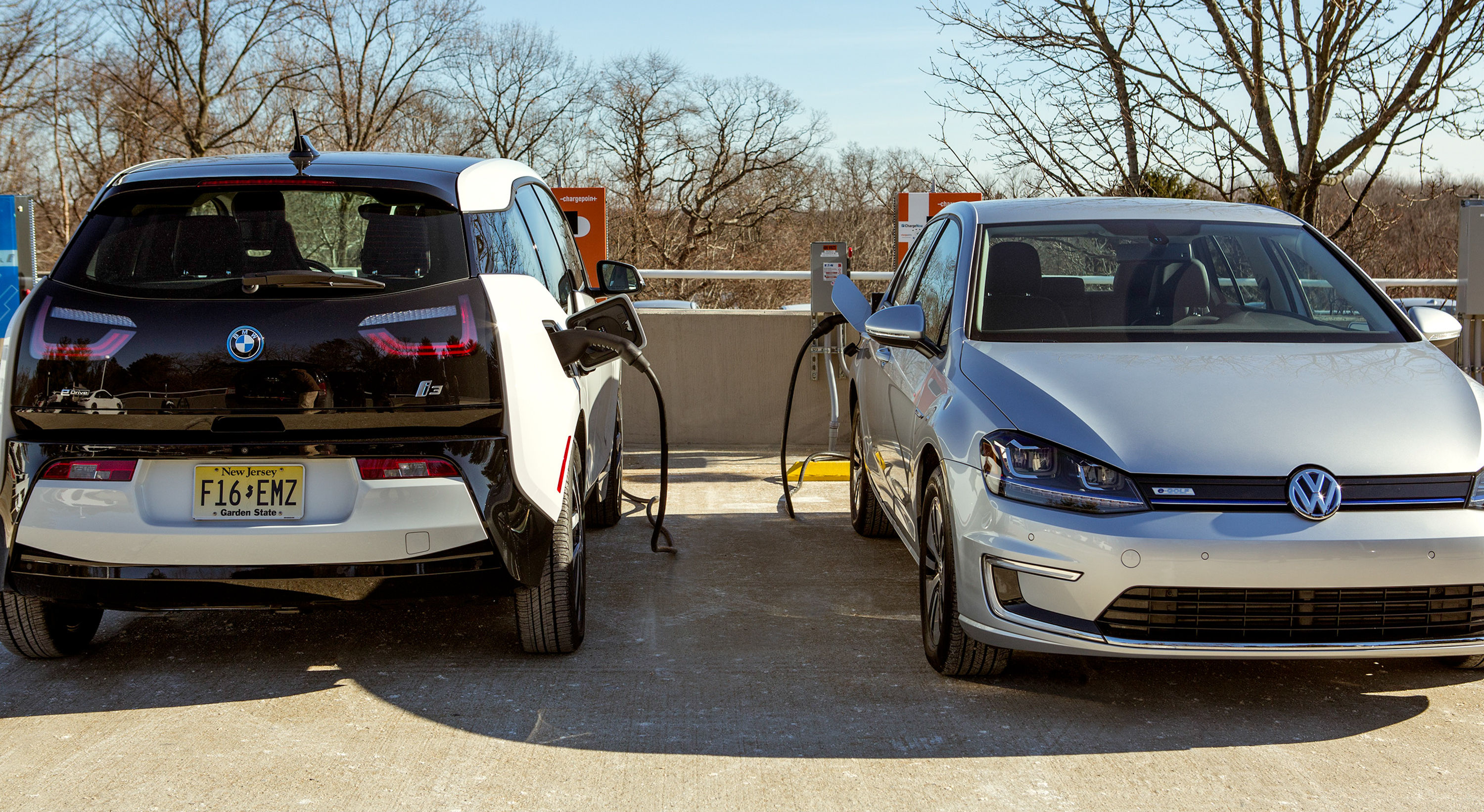 Bmw Volkswagen Team Up To Build Electric Car Charging Stations