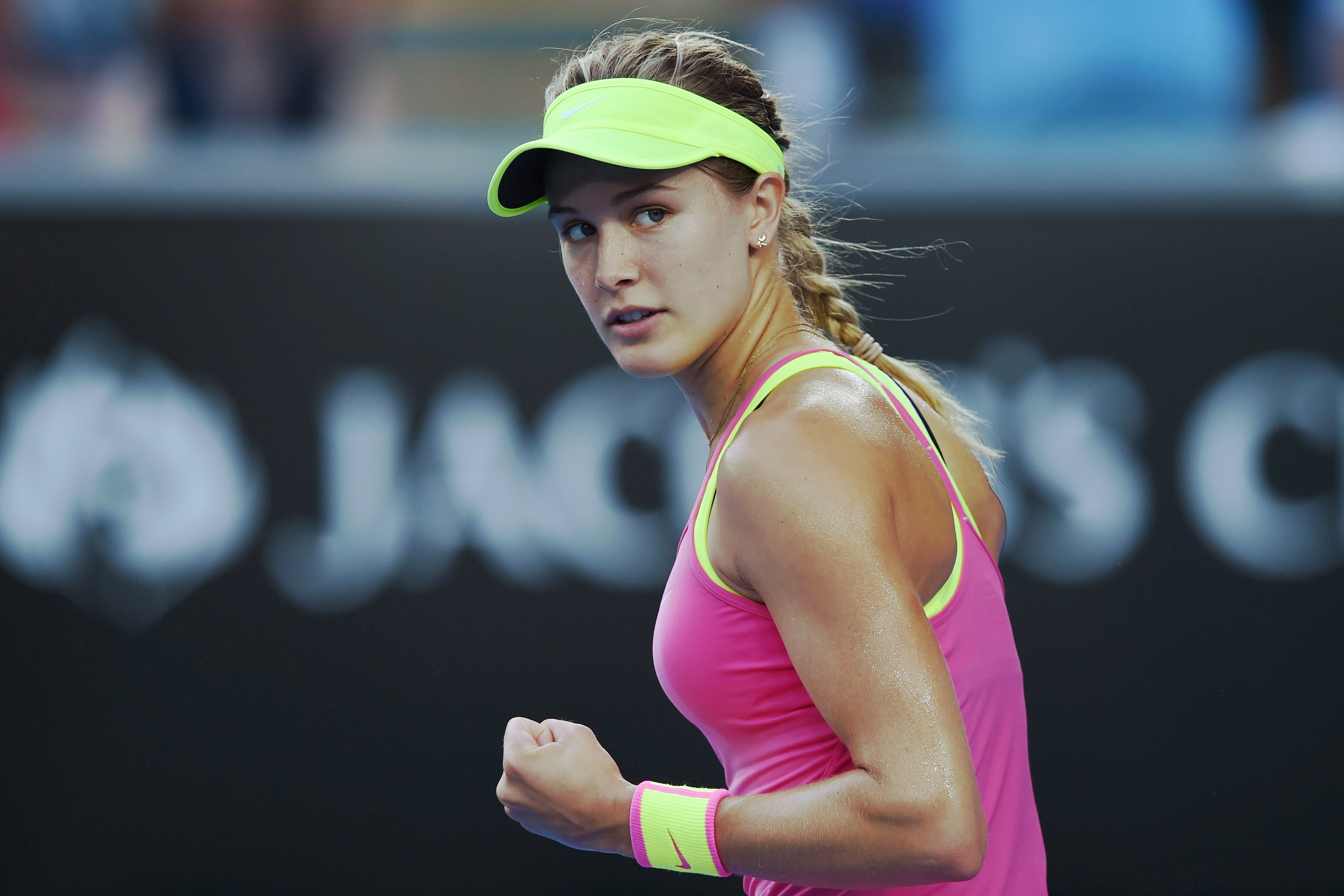 Eugenie Bouchard Twirl At Australia Open Sparks Tennis Sexism