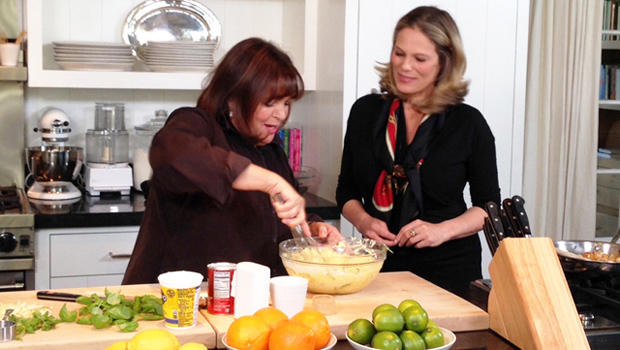 Ina Garten Age Captivating Ina Garten Was Born To Cook  Cbs News Decorating Inspiration