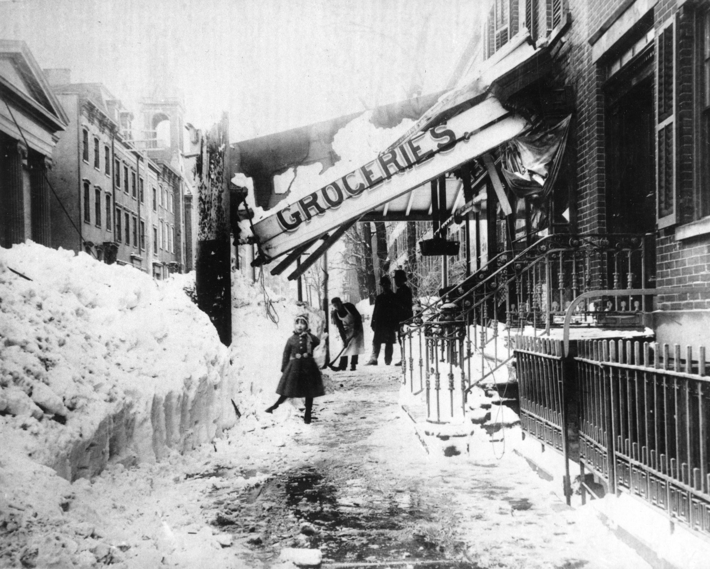 Historic U S Blizzards Pictures Cbs News