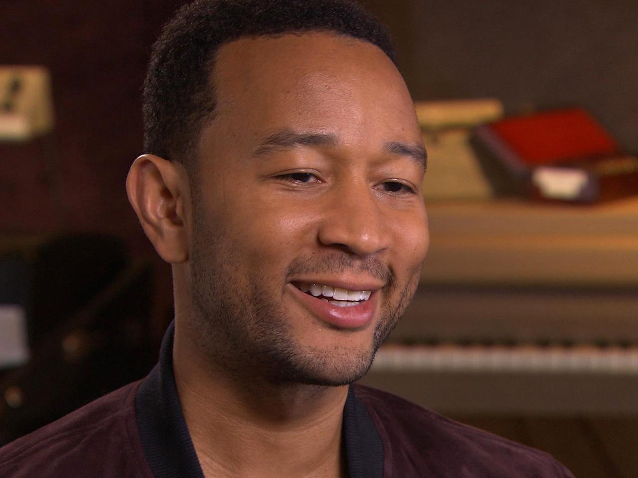 John Legend: Living up to his name - CBS News