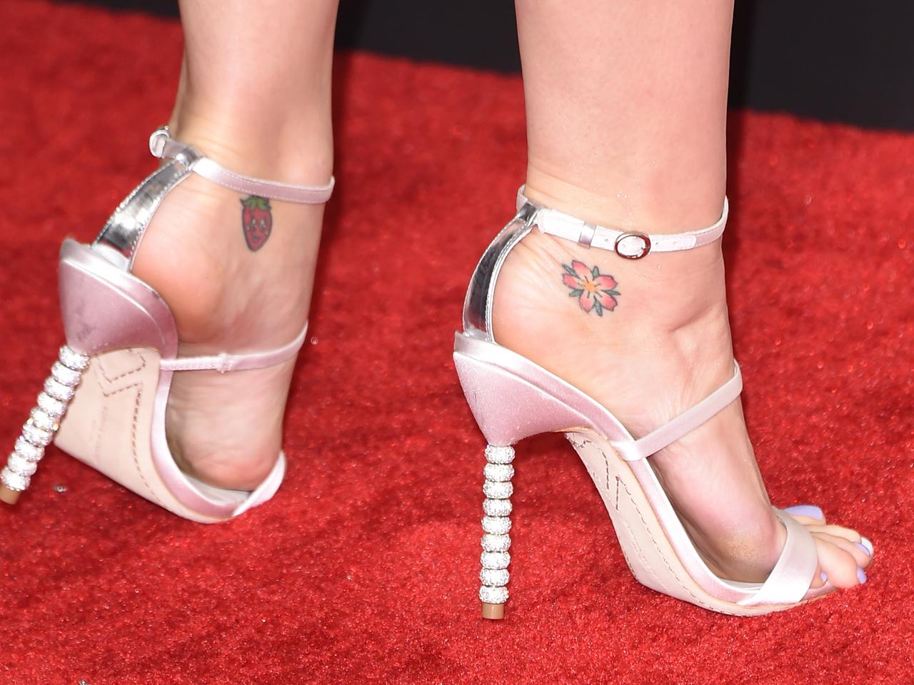 heels feet High and