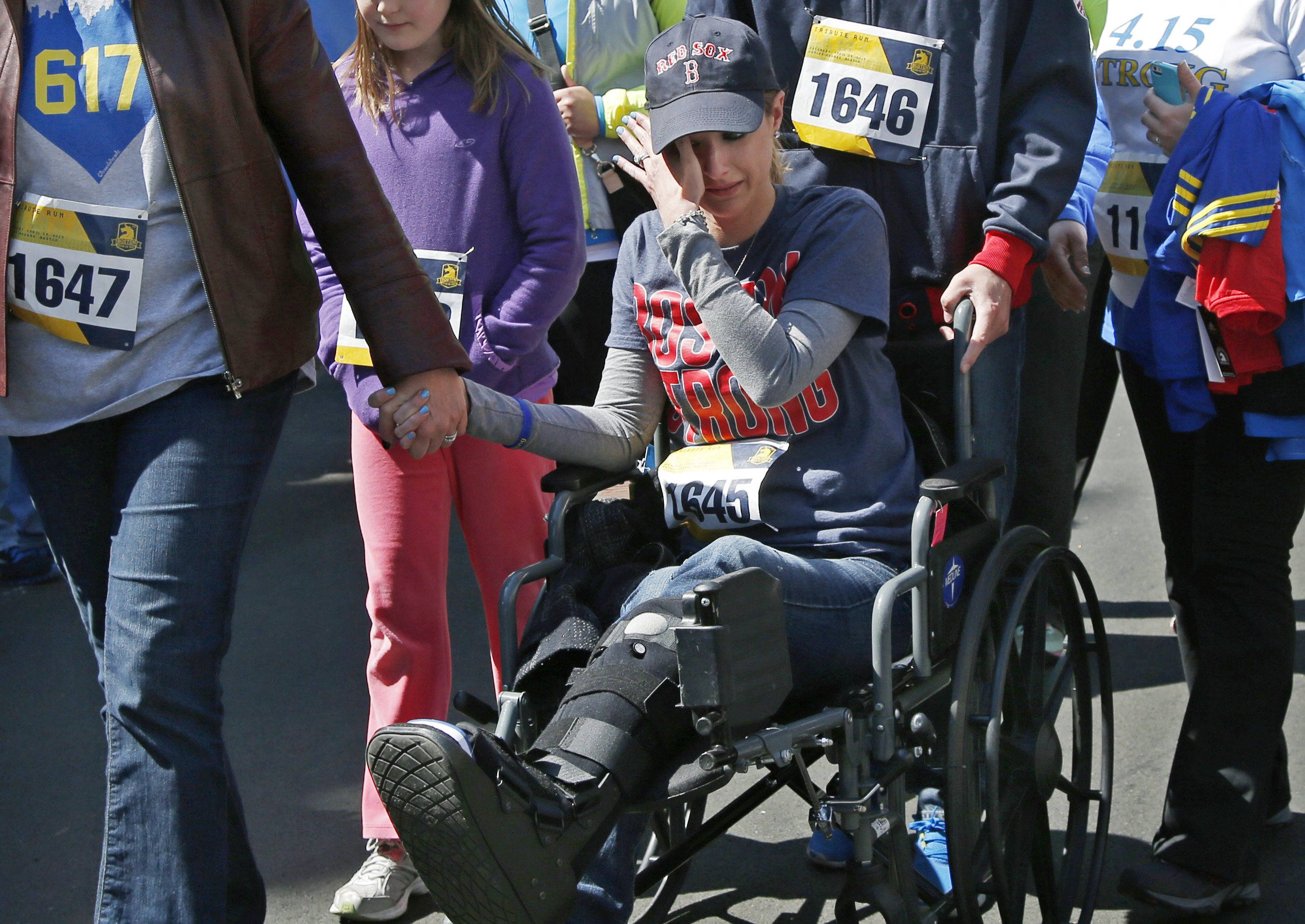 Boston Marathon Bombing Survivor Rebekah Gregory Writes