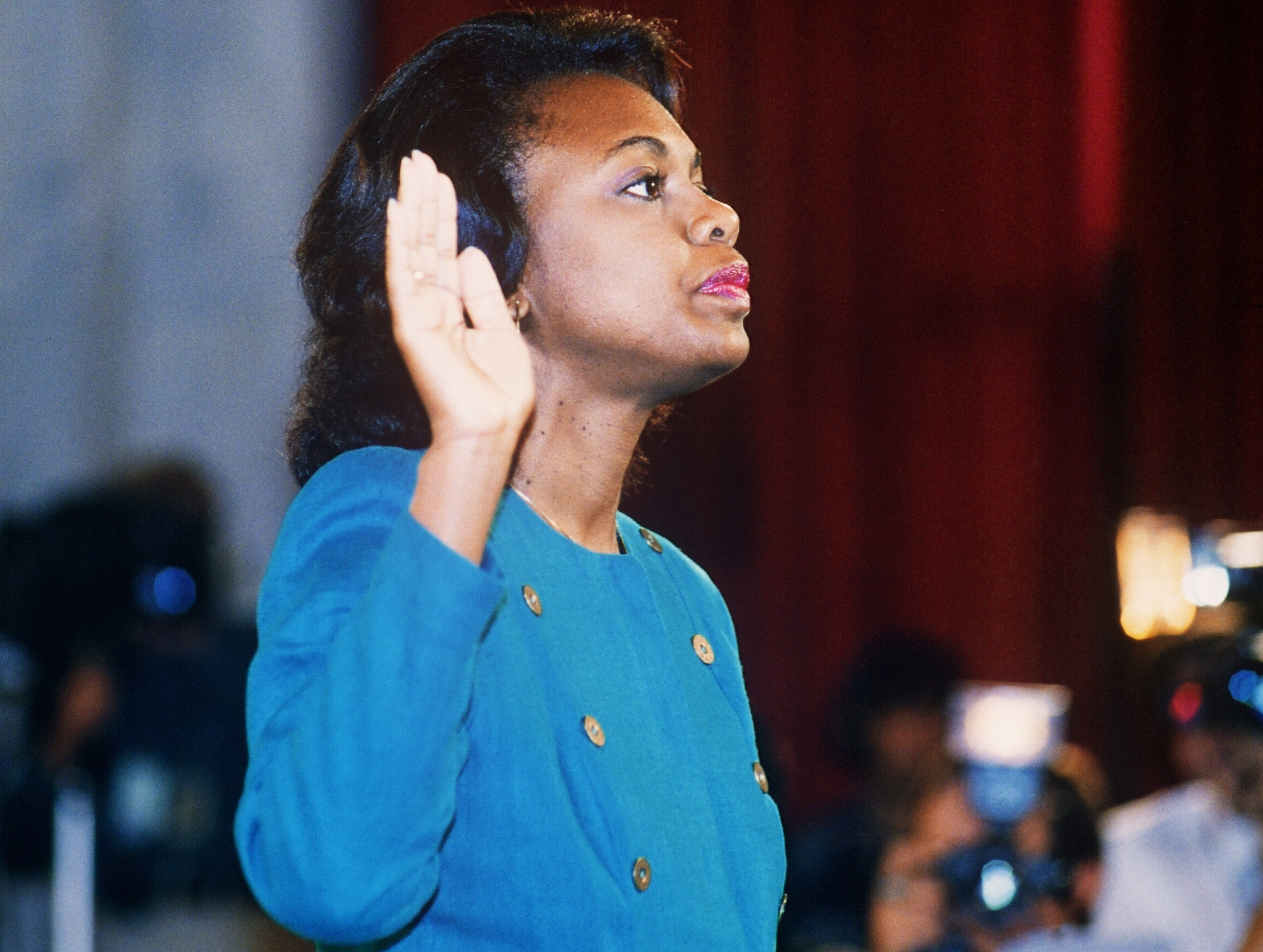Attention Senators Questions 14 >> Here Are Some Of The Questions Anita Hill Answered In 1991 Cbs News
