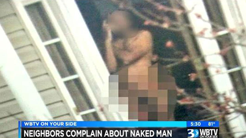 Not Naked neighbor seems